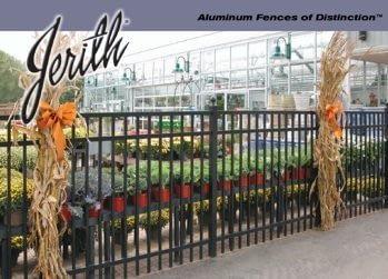 Jerith Iron Aluminum fence in Maryland