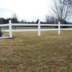 split rail fence white in Upper Marlboro
