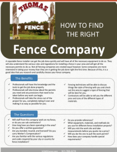 king-george-va-fence-contractor