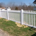 Vinyl Fence In Southern Maryland