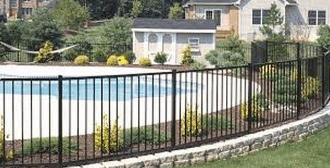 jerith aluminum fence in Ranch Estates L
