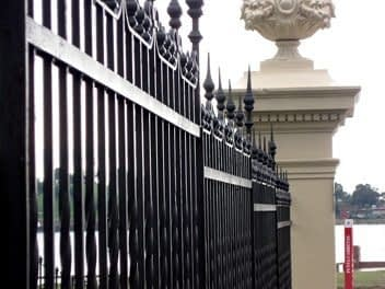 wrought iron fence and gates in MD