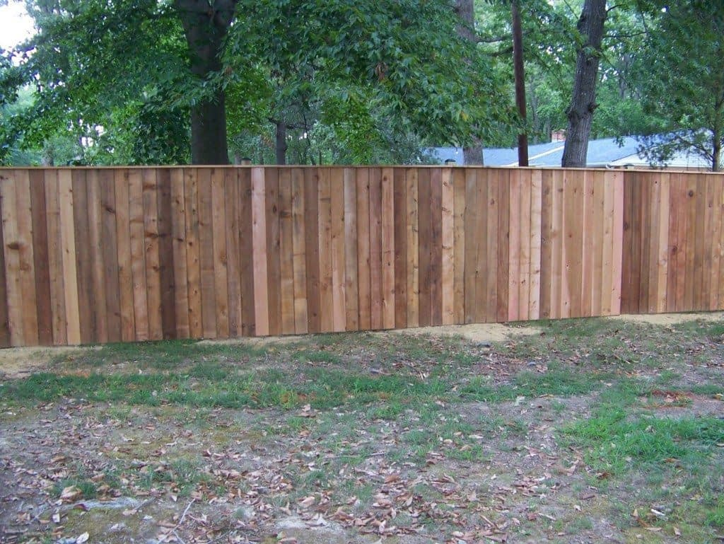 long wood fences in Anne Arundel County
