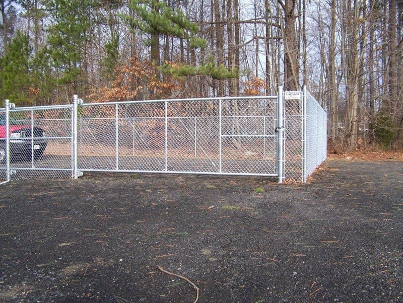 chain fence around tennis court near me Southern MD