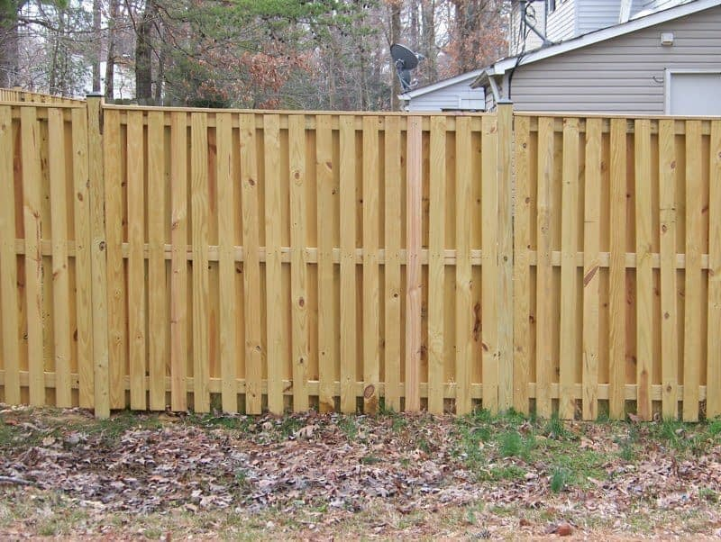 Wynngate or Shadow Box wood fence in Broomes Island