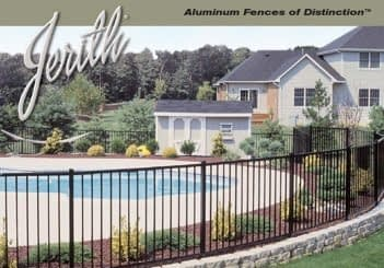 Jerith Pool Aluminum fencing in MD