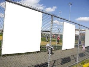 Chain Link Fence for ball field in Calvert County