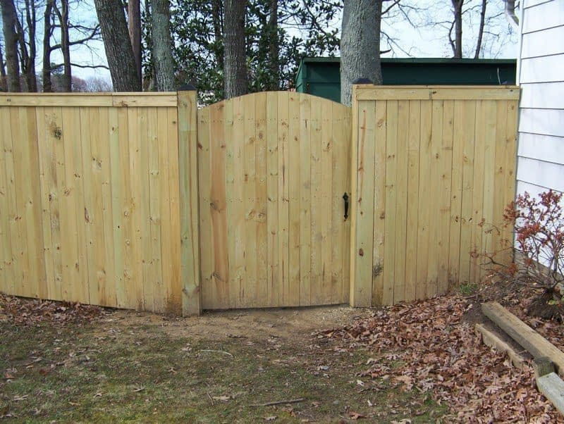 PG County fence installed