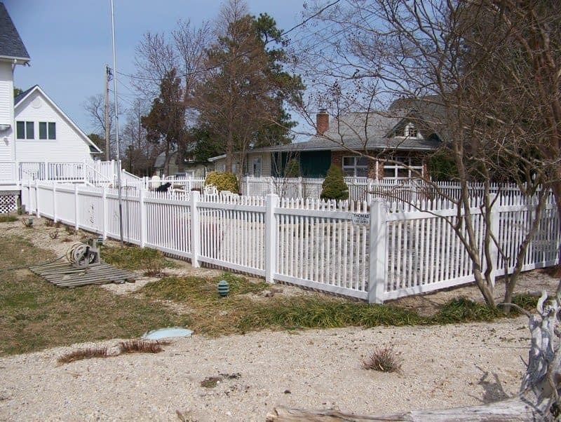 Wood fence for yard Hughesville MD