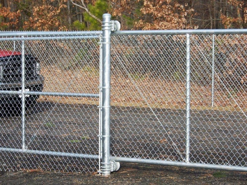 chain link gate commercial property near by Southern MD