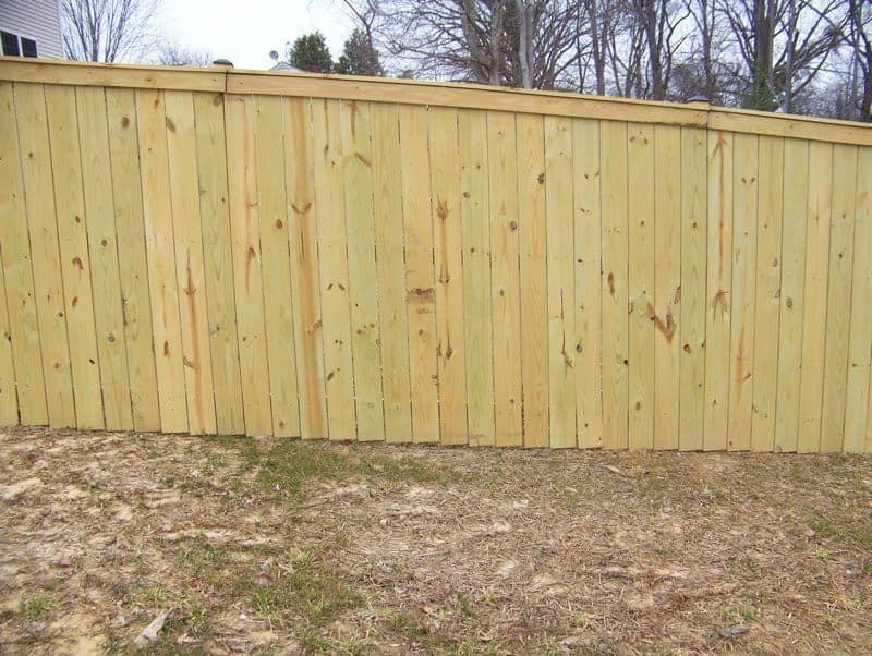 Fence in Lusby MD