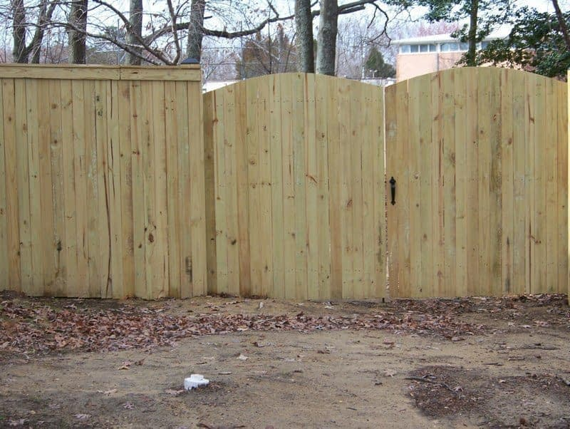 montgomery County wood fences installed