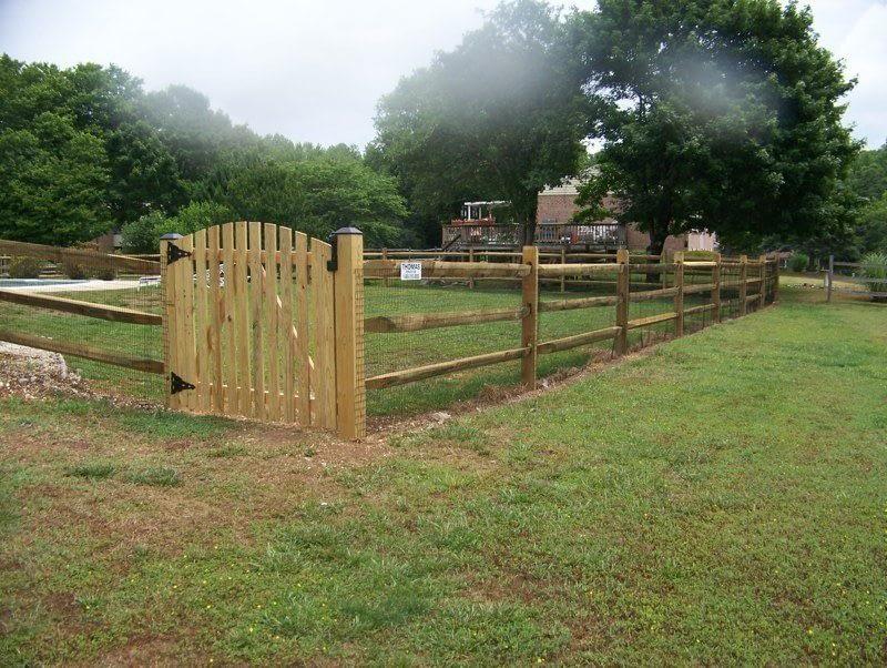 wooden fencing idea near in Maryland