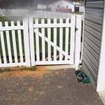 White Wooden Fence in MD