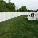privacy fence installed in Southern MD